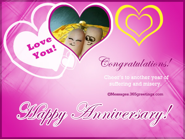 Funny Wedding Anniversary Wishes For Husband From Wife