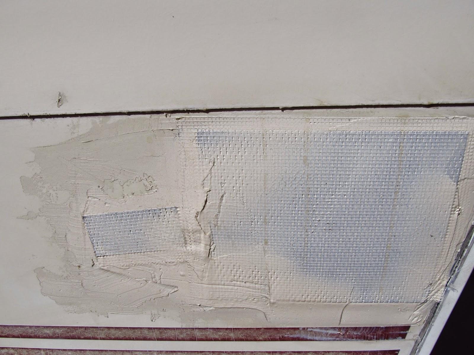 Motor Home Modification Usa Temporary Repair Rv Wall And