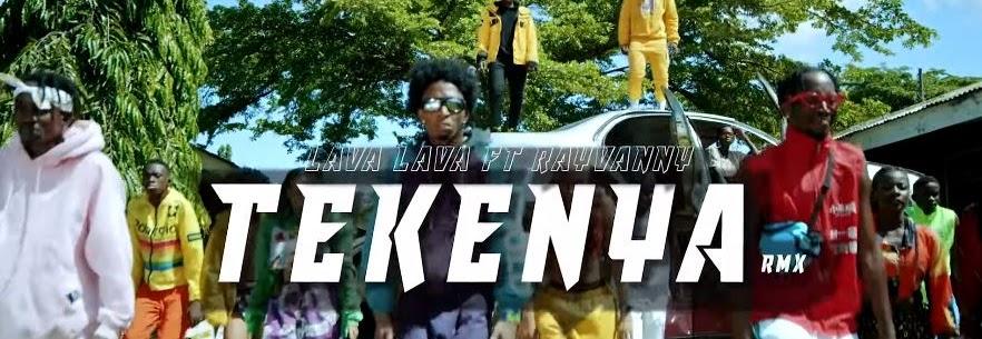 Download Lava lava ft Rayvanny - Tekenya