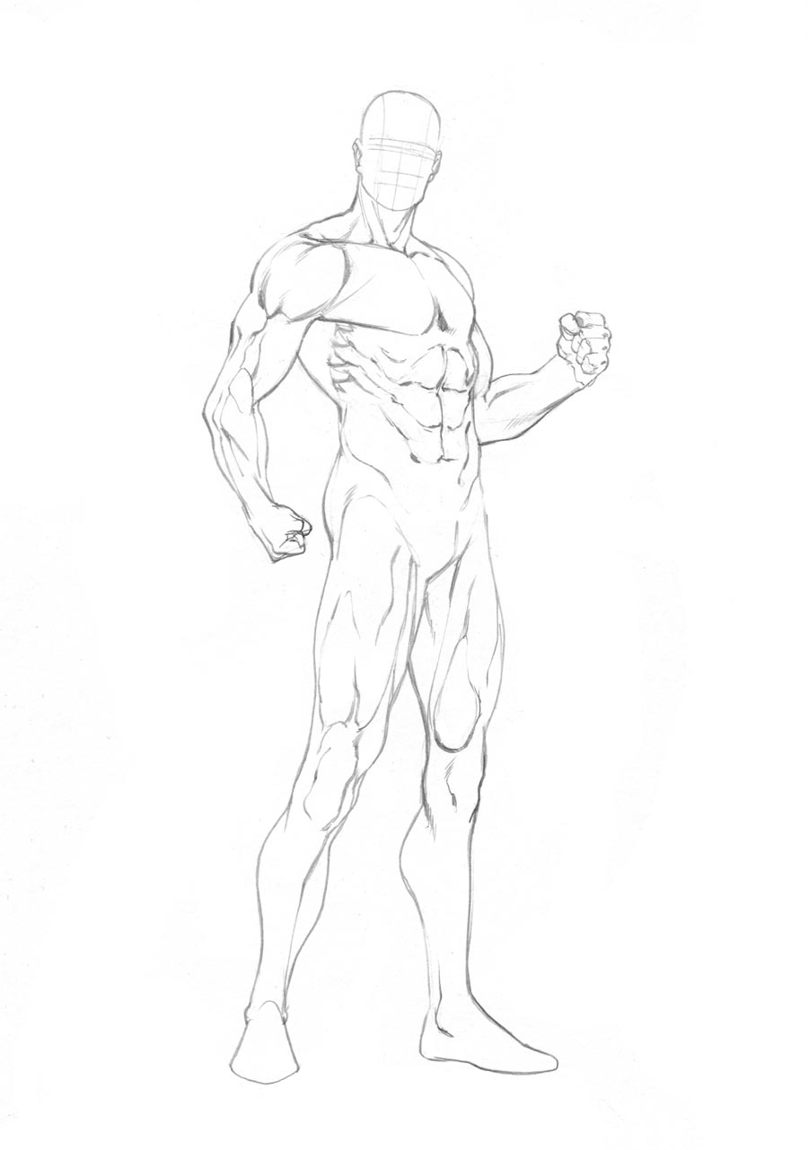 It's just a picture of Lucrative Figure Drawing Male