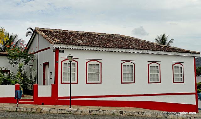 Casa colonial no Centro Histórico de Pirenópolis, Goiás