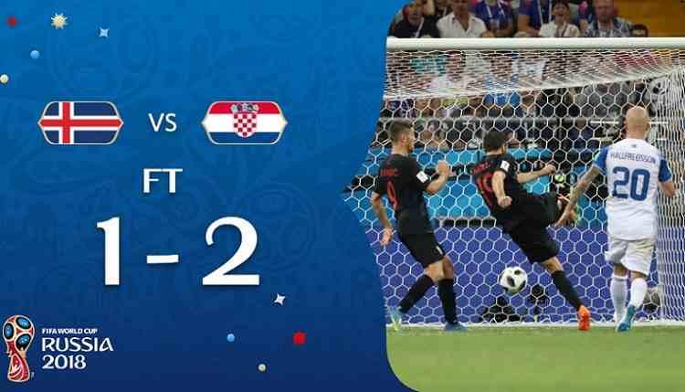 Hasil Islandia vs Kroasia Skor Akhir 1-2 | Fase Group D World Cup 2018