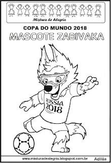 Mascote Zabivaka copa mundial 2018