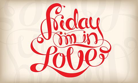 f04c21069ea Hoje estreamos a rubrica It s Friday I m in Love!