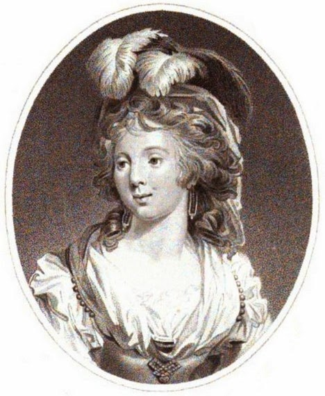 Princess Elizabeth  from The Lady's Magazine (1793)