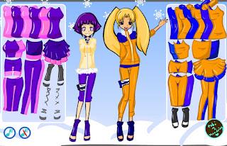 Hinata Naruko Dress Up, Хината Наруко одеваются, игра онлайн,, одевалка, анимэ, для девочек