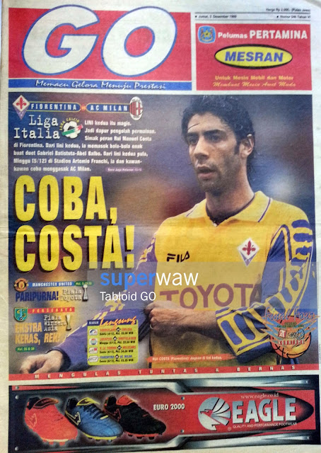 Tabloid GO: COBA, COSTA!