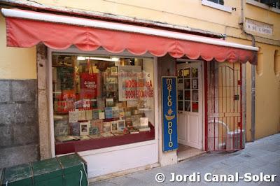 Librería Marco Polo en Venecia