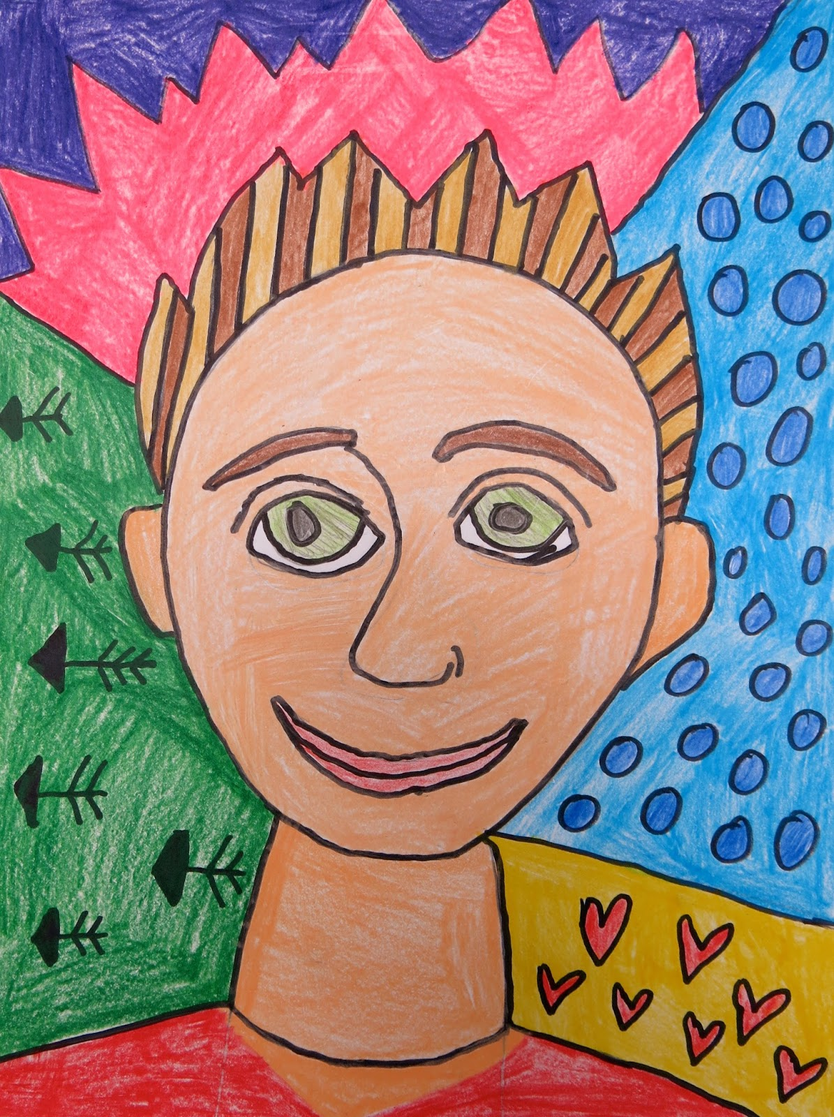 Cassie Stephens In The Art Room Romero Britto Inspired