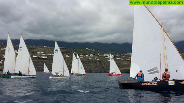 Los barquillos de vela latina canaria serán olímpicos en París 2024