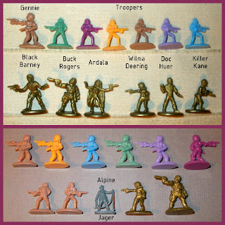 25mm Space Figures, 25th Century, Ardala, Battlers, Black Barney, Board Game, Boardgame Pieces, Boxed Game, Boxed Toy, Buck Rogers, Buck Rogers In The 26th Century, Doc Huer, Factories, Fighters, Gennies, Human Troopers, Killer Kane, Plastic Figurines, Plastic Toy Figures, Plastic Toys, Satellites, Sci Fi Figurines, Science Fiction Figures, Transports, TSR Games, TSR Inc., Wilma Deering, Small Scale World, smallscaleworld.blogspot.com,