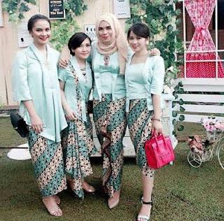 Gaya Kebaya Anak Muda Untuk Pesta Pernikahan