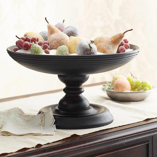Sugar Coated Fruit Centerpiece