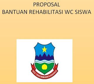 Proposal Bantuan Rehabilitasi WC Siswa