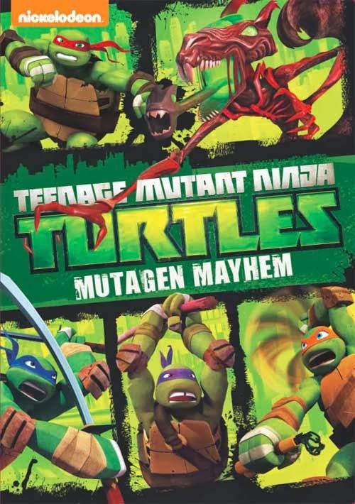DVD Review - Teenage Mutant Ninja Turtles: Mutagen Mayhem