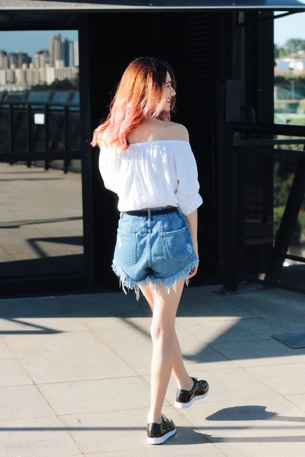 look-do-dia-relax-blusa-ciganinha-cigana-ombro-a-ombro-shorts-jeans-destroyed-oxford-lipstickandpolaroids