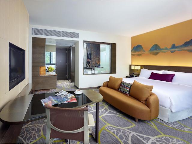 香港九龍東皇冠假日酒店 (Crowne Plaza Hong Kong Kowloon East)staycation可供2人入住豪華客房1晚