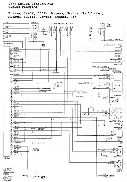 Wire Diagram 1992 Nissan Hardbody  Wiring Diagram Database