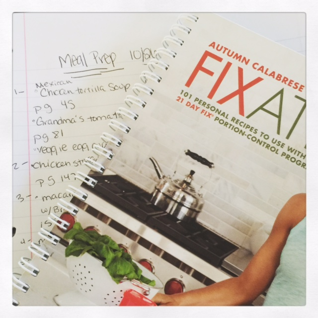 21 Day Fix Recipe Book