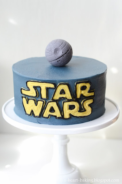 I Heart Baking Star Wars Cake With Handmade Chocolate