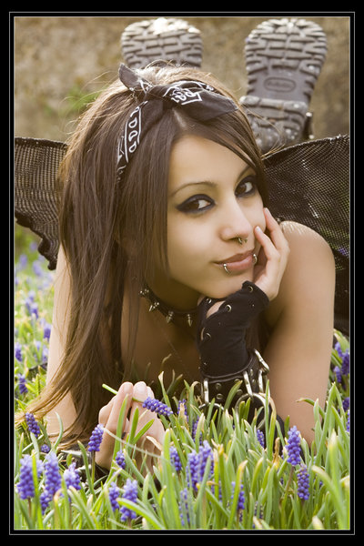Fashion Hairstyles: Emo Style Girl