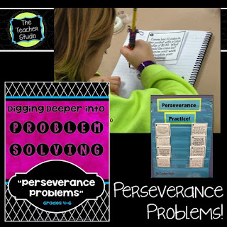 Teaching perseverance, the standards for mathematical practice, and math collaboration are so key. This post helps give teacher tips for improving math thinking and problem solving. Grade 3 math, Grade 4 math, math workshop