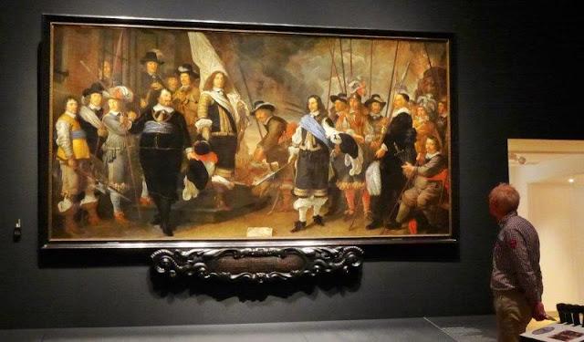 Exposicion Galeria de retratos de la Edad de Oro en el Hermitage Amsterdam