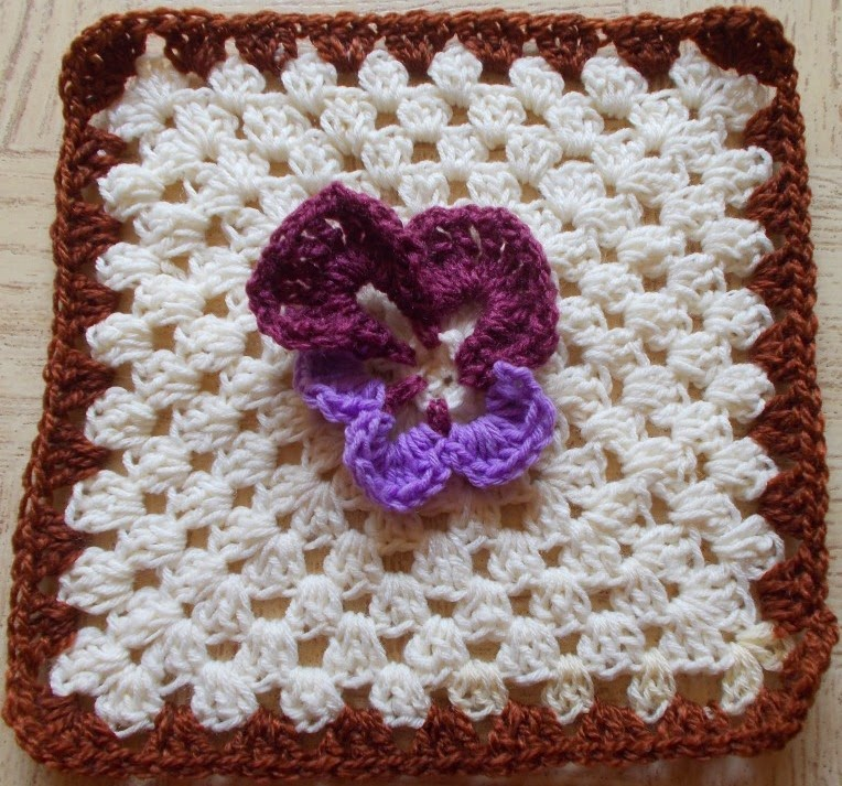 Sweet Nothings Crochet Flower Power Granny Squares