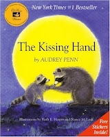 bookcover of The Kissing Hand by Audrey Penn