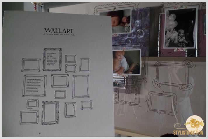 post DIY marcos para fotos dibujados. Proceso. Dibujando los marcos en el vidrio del cuarto de los chicos. La ilustracion venia con una lámina que compre en Monoblock