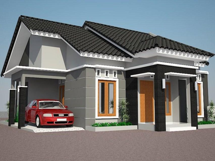 25 Gambar Indah Rumah Minimalis Type 70 Satu Lantai Model Terbaru