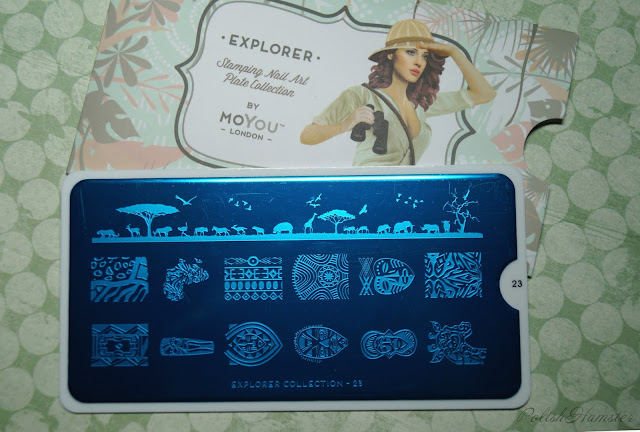 MoYou London Explorer Plate Collection 23
