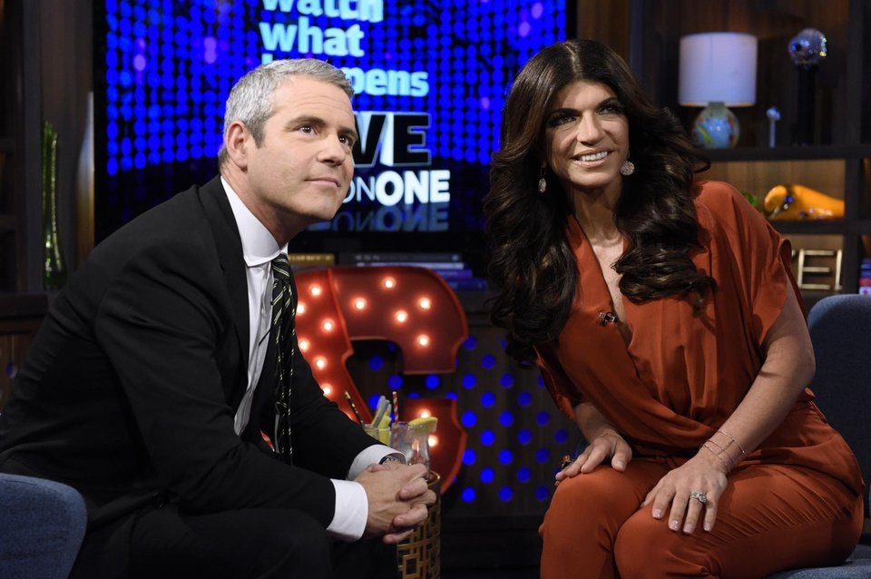 Rhonj star teresa giudice with new for Where do real housewives of new jersey live