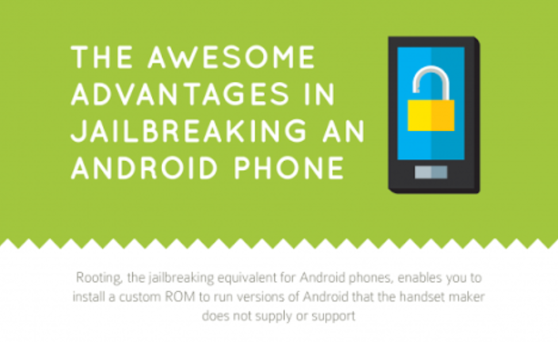 Advantages Of Rooting The Android Device [Infographic]