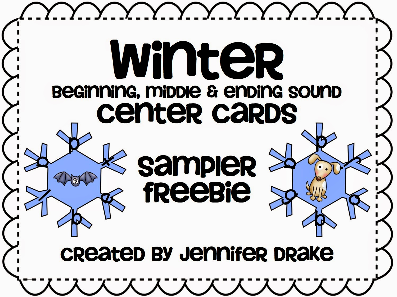 Teacher Tam S Educational Adventures 11 Free Kindergarten Literacy Centers For Winter