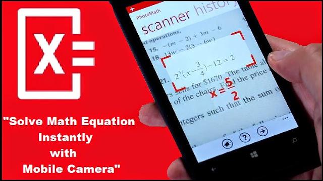 Download Photomath - Camera Calculator (Useful App) tricks9.com