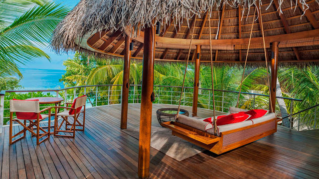 W Maldives, Fesdu Island, Wonderful Beach Oasis Villa, Upper Deck