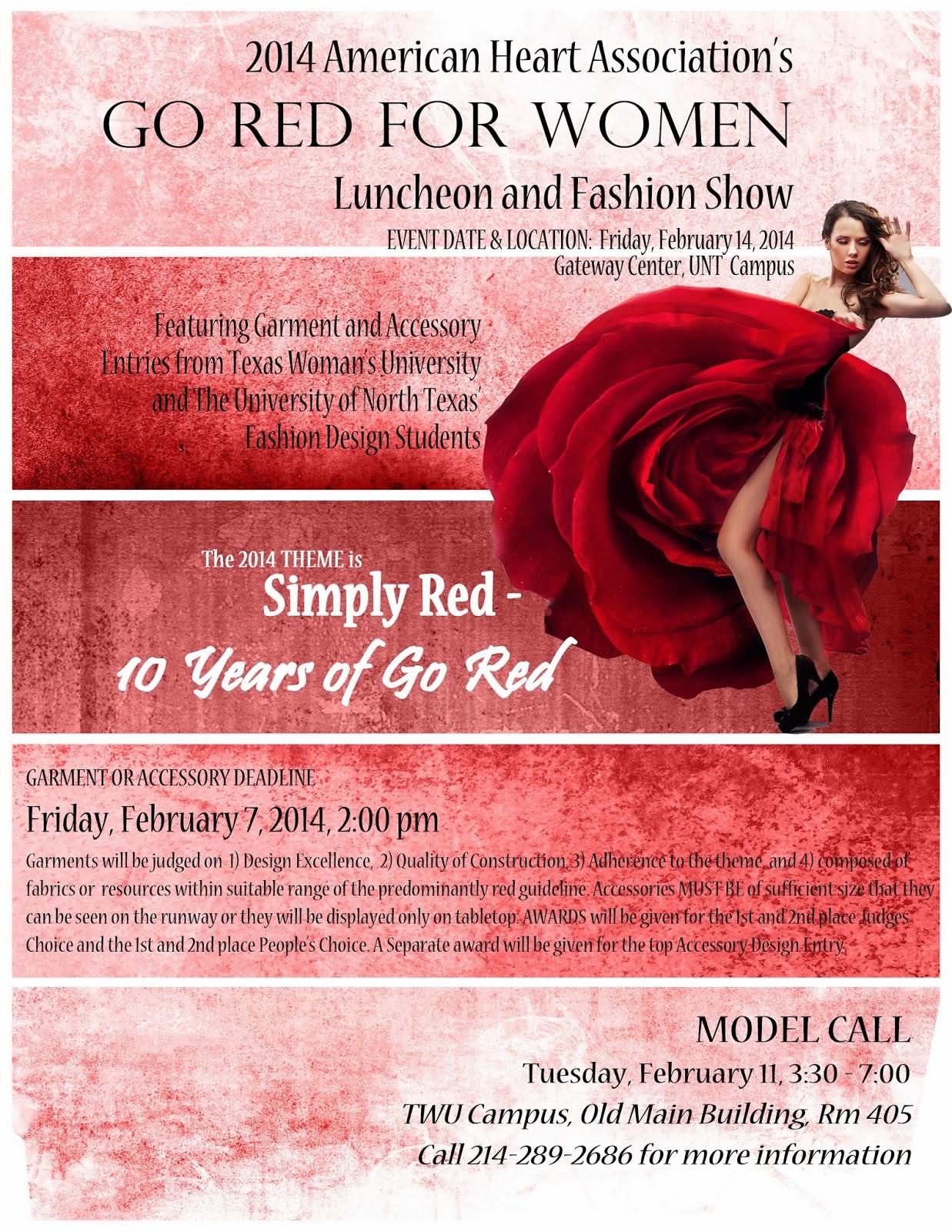 Fashion Design Blog American Heart Association S Go