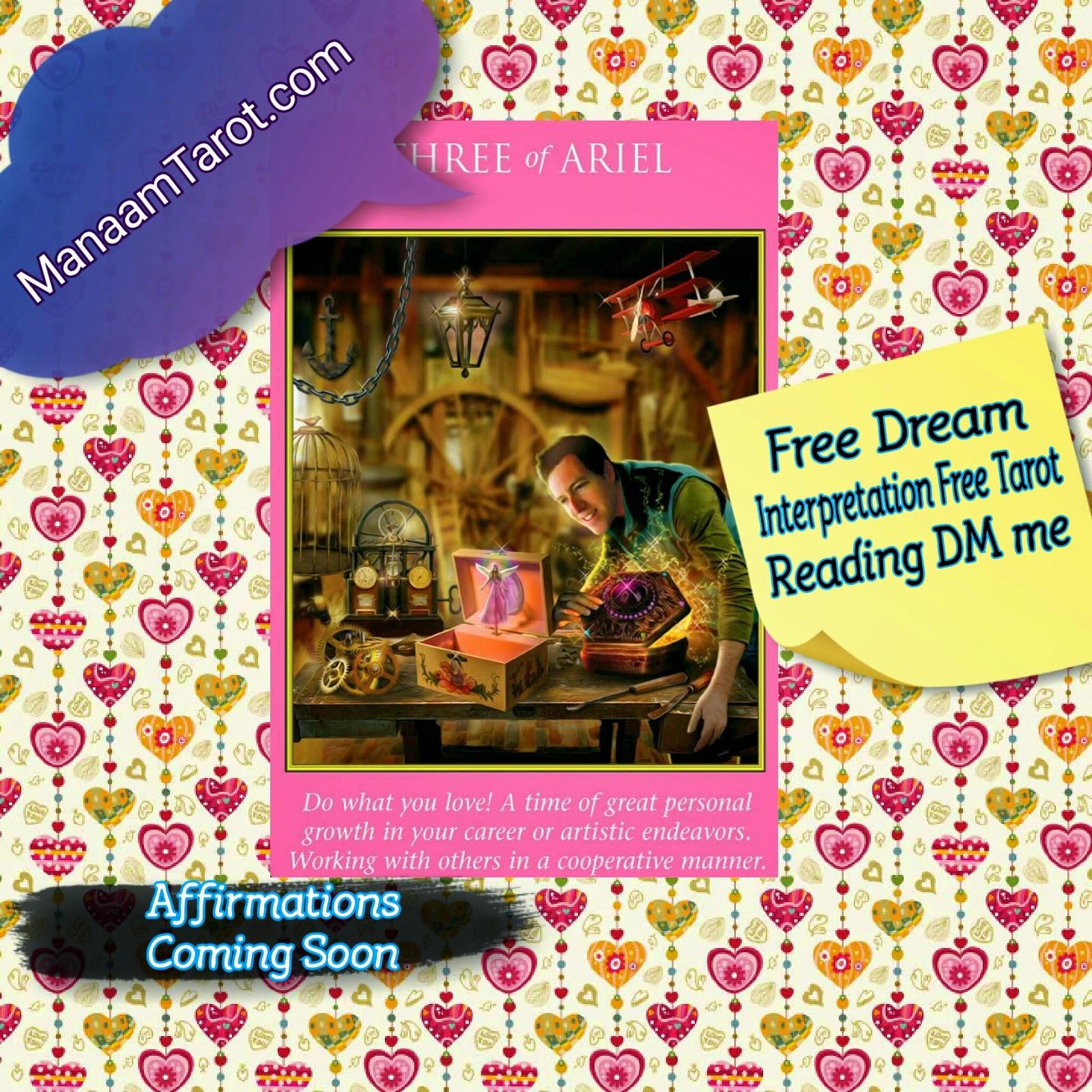 Free daily tarot reading love