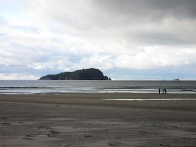 Playa de Pauanui, Nueva Zelanda