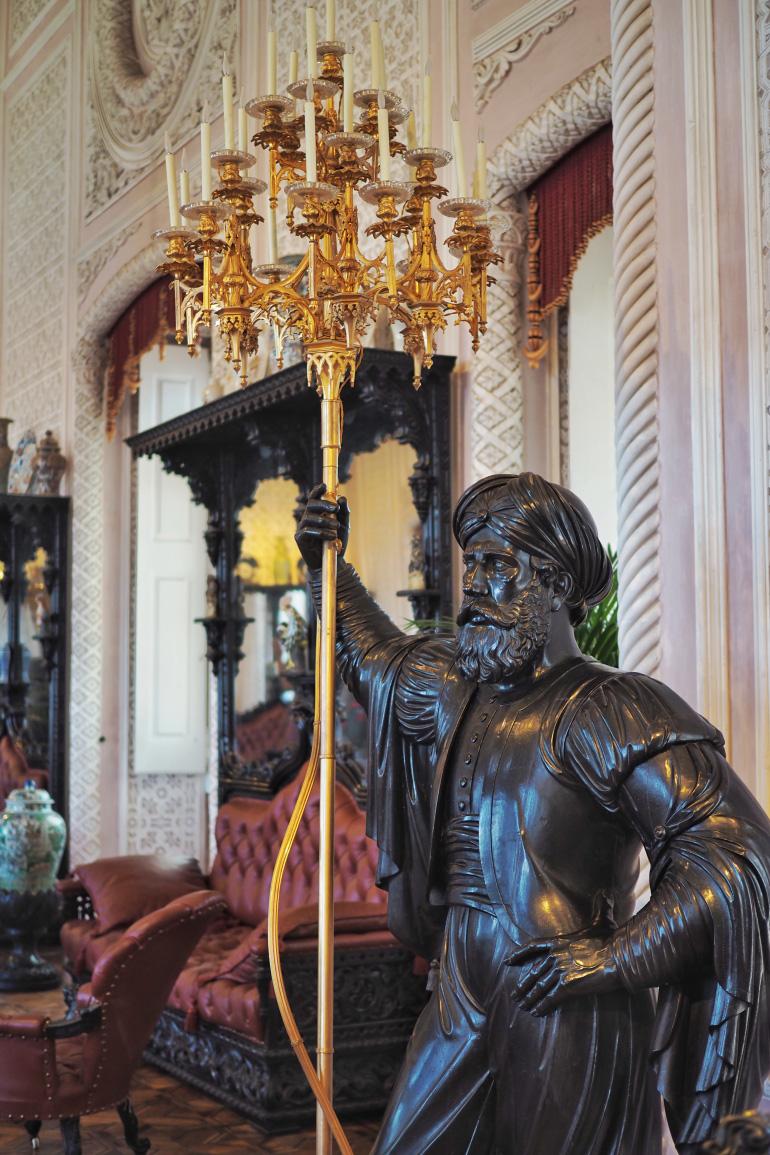 Intérieur du palais de Pena près de Lisbonne
