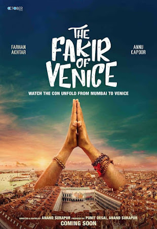 Poster Of Hindi Movie Fakir of Venice 2019 Full HD Movie Free Download 720P Watch Online