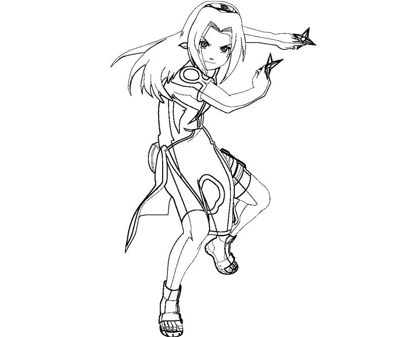 haruno coloring pages - photo#12