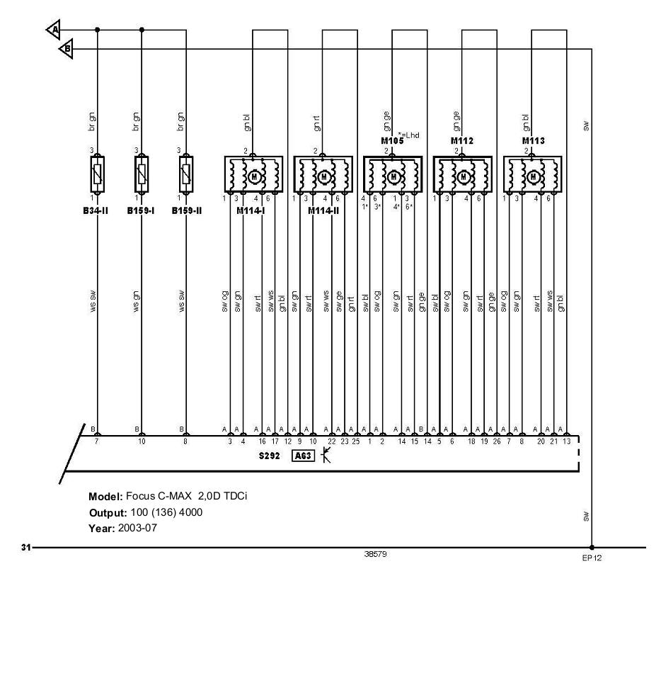 hight resolution of air conditioning ford focus c max 2 0