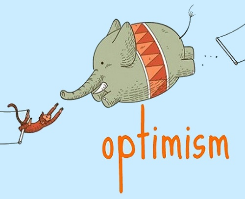 Optimism. HUMOR casi INTELIGENTE