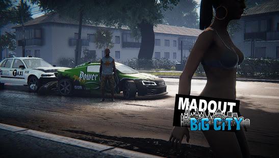 Pada kesempatan kali ini admin akan membagikan sebuah game agresi sekaligus balapan asing ya MadOut2 BigCityOnline v5.6 Mod Apk Data (Unlimited Money + Gems)