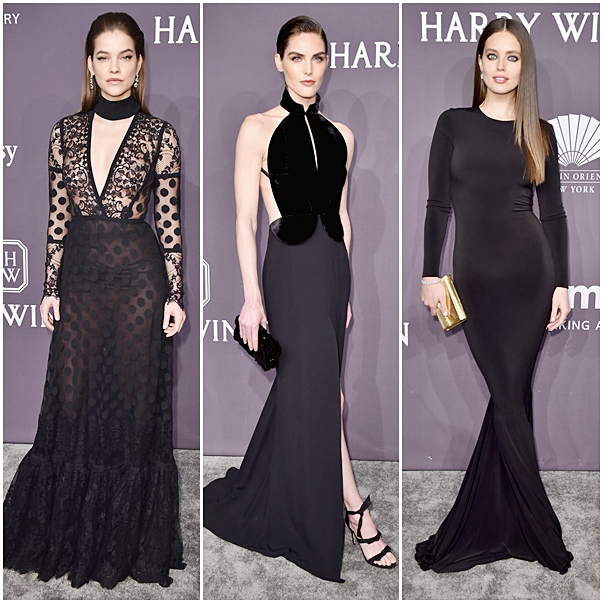 Looks baile Amfar New York