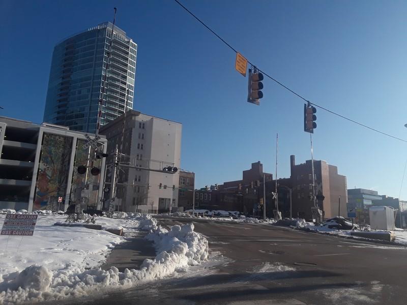 Durham sous la neige