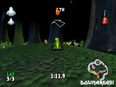 Muppet Race Mania PSX Gameplay Screenshot Muppet Race Mania PS1 ISO