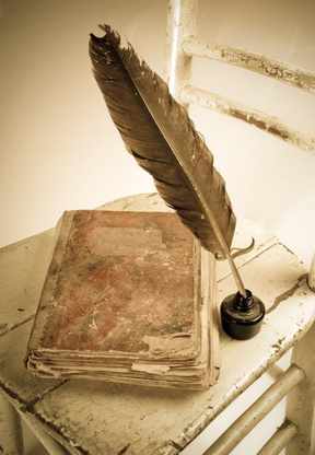 How to make book and quill